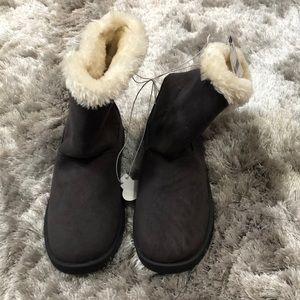 Gray women's boots